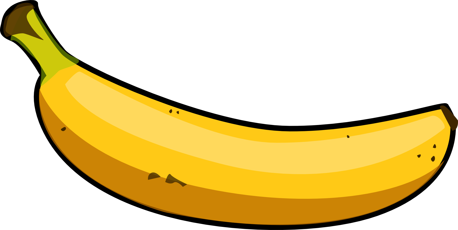 Banana vectordelicate fruit minecraft console